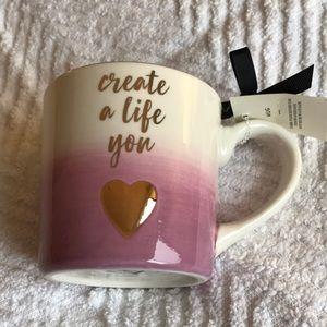 Create A Life You 💛 Coffee Mug 14oz Purple Ombré